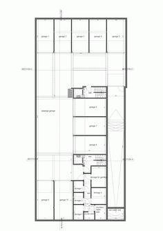 Blanco Oostduinkerke Residence / BURO II & ARCHI+, Floor Plan-B