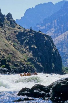 The breathtaking backdrop to your Snake River rafting trip #Idaho #rafting #Snake #River