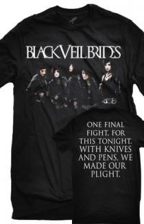 Black Veil Brides shirt I want tho I don't listen to them that much I have a weird obsession with their shirts. This is one of the songs I like tho