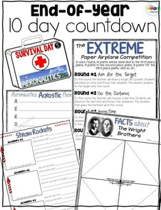 Learn more about our 10 day countdown to summer as you review skills learned during the year.