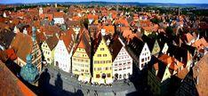 La strada romantica è l'itinerario turistico più frequentato e più amato della Germania: 350km di magnifici paesaggi da Würzburg a Füssen.