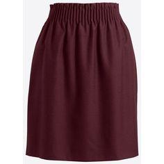Wool sidewalk skirt (1 945 UAH) ❤ liked on Polyvore featuring skirts, purple skirt, woolen skirt and wool skirt