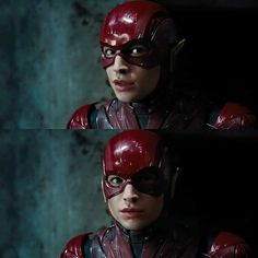 "Ezra Miller as Barry Allen/The Flash in Zack Snyder's ""Justice League"" (2017)."