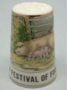 Festival Food and Farming-Hyde Park. 1992. Thimble Craft By Shirley. Inglaterra. Thimble-Dedal-Fingerhut.