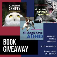 Kathy Hoopmann, author of All Cats Have Asperger Syndrome on making a difference + fantastic #book #giveaway