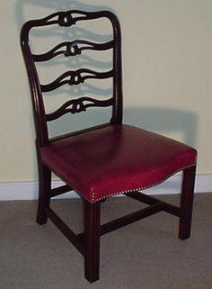 Ribbon back chairs