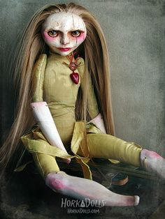 art doll CINDERELLA HorkaDolls