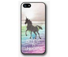 Believe in Unicorns iPhone 5s / 5c case iPhone 5s / by HappyPhone, $14.99