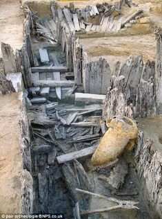 A perfectly preserved WW1 German trench that was buried upon impact of a bomb, and remained undiscovered until recently. Great read with some awesome pictures.