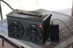 Ammo Case Speaker