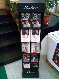 At the launch of new editions of You Can Win and You Can Sell at PHD House.