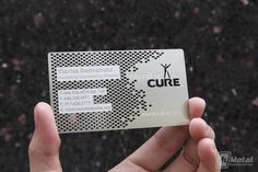 Stainless Steel Business Cards by MyMetalBusinessCard.com