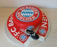 Bayern München Torte Cake by simonamaria1975, via Flickr