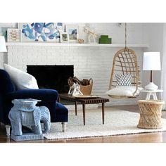 Hanging Rattan Chair #children-furniture #home-decor-furniture #home-decor-garden
