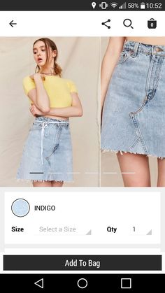 ae9f7c24eec 30 Best denim skirts images