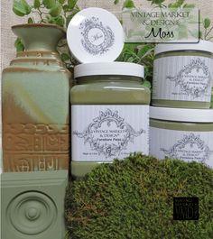 Moss , Vintage Market & Design Furniture Paint - Vintage Market And Design…