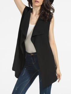 Lapel Dacron Plain Waistcoat Only $28.95 USD More info...