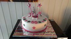 50. Geburtstag, Fondant, Explosion, Pink