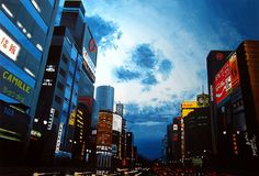 """GINZA, TOKYO 1"" By Socrates Rizquez - Enamels on melamine. www.socrates-art.es"