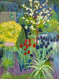 Joyce Frances Devlin Merrickville Garden 2012