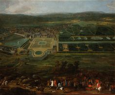 King Louis XIV hunting near the Palace of Fontainebleau in France by painter Pierre-Denis Martin ca. Louis Xiv, Birds Of Prey, Parks, Paris Opera House, Google Art Project, French Royalty, Francis I, Baroque Art, Gardens