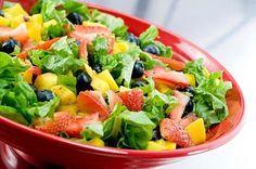 Copycat - Zupas Mangoberry Salad w/ Mango Yogurt dressing