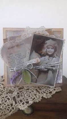 Ada Art&Craft Vintage Cards, Decoupage, Decorative Boxes, Arts And Crafts, Greeting Cards, Frame, Home Decor, Decoration Home, Frames