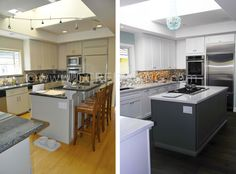 Specializing in custom solid wood cabinet refacing, thermofoil cabinet refacing and cabinet refronting.