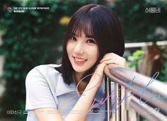 GFriend - Eun Ha ❤ : Summer Rain Repackag Of Mini Album Rainbow Kpop Girl Groups, Korean Girl Groups, Kpop Girls, Extended Play, Gfriend Album, Jung Eun Bi, Photoshoot Images, Cloud Dancer, Summer Rain