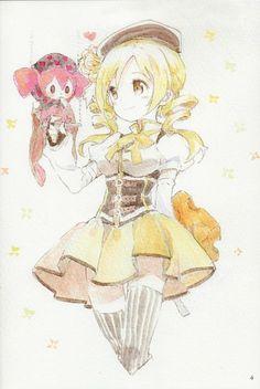 Mami-san!! She's my fav mahou shojo! >u