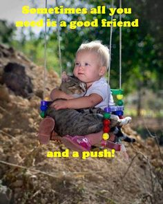 This is so true. Sometimes all you need is just a good friend and a little push.  @ivetteg59