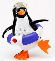 £7.50 penguin shower radio so i can listen to radio 4 in the morning!