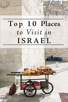 Find out the top ten places to visit in Israel! From the capital of Tel Aviv to history-rich Jerusalem, Galilee, Dead Sea - here is where to go in Israel. Beautiful Places To Visit, Cool Places To Visit, Places To Travel, Places To Go, Travel Destinations, Travel Stuff, Voyage Israel, Heiliges Land, Israel Travel