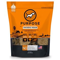 Purpose Freeze Dried Chicken and Organic Veggie Humanely Raised Dog Food 14 Ounce * Thanks for viewing our image. (This is an affiliate link) Pet Branding, Food Branding, Food Packaging Design, Dry Cat Food, Pet Food, Cat Diet, Free Dog Food, Freeze Drying Food, Dog Food Brands
