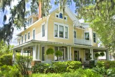 Hoyt House B and B - Amelia Island, FL.  Honeymooned there - can't wait to return.