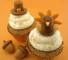 Easy_ Adorable_ Thanksgiving_ Cupcake_ Decorating_ Ideas__16