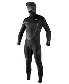 ONeill Wetsuits Mens Pyrotech 554 mm wHood FUZE Entry Fluid Seam Weld Full Suit BlackBlackBlack Medium ** To view further for this item, visit the image link. This is an Amazon Affiliate links.