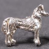 Siberian Husky silver EARRINGS (studs)