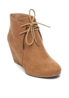 b4af0eccc8f0 New Directions Women s Cedar Lace Up Wedges - Dark Brown - 6.5M