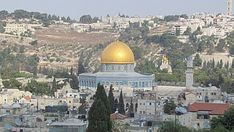 Monte del Templo. Jerusalén