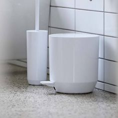 Buy Zone Denmark Suii Pedal Bin Now at Dotmaison. Quality designer homewares & Free UK delivery over Japanese Minimalism, Taupe Colour, Soap Dispensers, Toilet Brush, Danish Design, House Colors, Denmark, Household, Dish