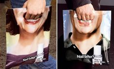 Stop'n Grow - Nail Biter Bag :: Jung von Matt advertising agency (Berlin), Photo by David Mously