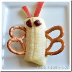 This snack is super simple, fun and kids will eat it up!  #healthysnacks #funfood4kids #pattersontedfordpediatrics