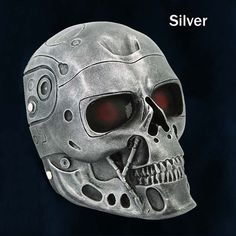 The Terminator Movie T-800 Robot Cosplay Mask