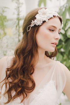 20 Long Wedding Hairstyles 2013| Confetti Daydreams – Wedding Blog
