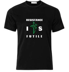 Ingress Enlightened-Resistance IS Futile T-Shirt  available