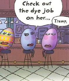 Wordless Wednesday: 15 Hilarious Easter Cartoons Funny cartoons for Easter to make you laugh out loud. Easter Jokes, Funny Easter Eggs, Easter Cartoons, Hoppy Easter, Easter Stuff, Funny Cartoons, Cartoon Humor, Cartoon Quotes, Funny Posters