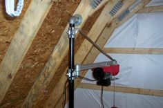 Simple hoist for upstairs/downstairs loads - The Garage Journal Board