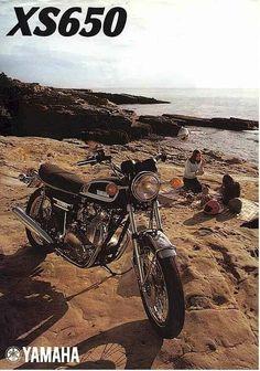 Yamaha XS650 1975