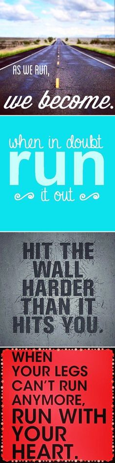 These inspirational running quotes will stay with you no matter how long your run.